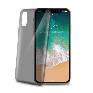 Silikonové pouzdro CELLY Ultrathin pro Apple iPhone X, černé