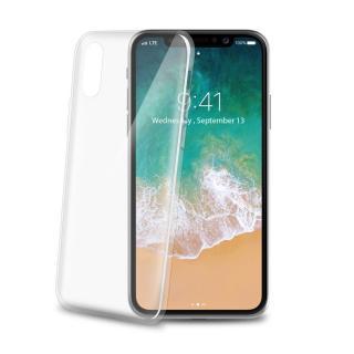 Silikonové pouzdro CELLY Ultrathin pro Apple iPhone X, white