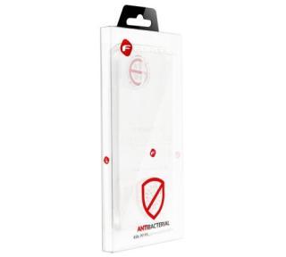 Silikonové pouzdro Forcell AntiBacterial pro Apple iPhone 6/6S, transparentní