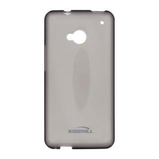 Silikonové pouzdro Kisswill pro Huawei P8 Lite 2017, černé