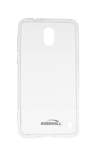 Silikonové pouzdro Kisswill pro Nokia 2.1, transparent