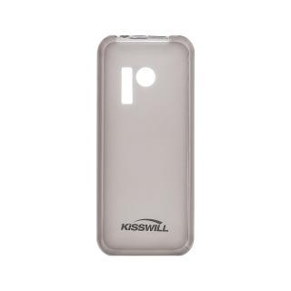 Silikonové pouzdro Kisswill pro Samsung Galaxy A21, černá