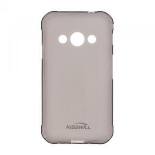 Silikonové pouzdro Kisswill pro Samsung Galaxy J4 Plus, černé