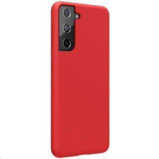 Silikonové pouzdro Nillkin Flex Pure Liquid pro Samsung Galaxy S21, červená