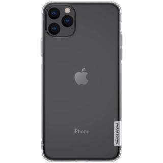 Silikonové pouzdro Nillkin Nature Case pro Apple iPhone 11 Pro Max, bílá