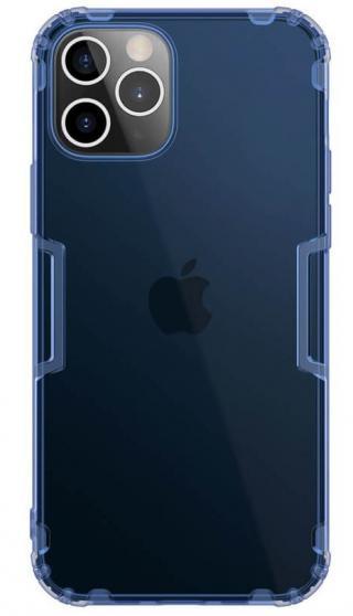 Silikonové pouzdro Nillkin Nature pro Apple iPhone 12 Pro/12 Max, modrá