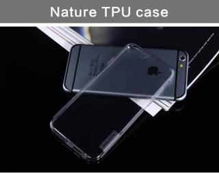 Silikonové pouzdro Nillkin Nature pro Apple iPhone 6 šedé