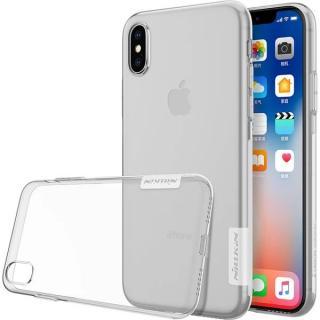 Silikonové pouzdro Nillkin Nature pro Apple iPhone X/XS, čirá