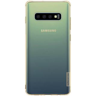 Silikonové pouzdro Nillkin Nature pro Samsung Galaxy S10, tawny