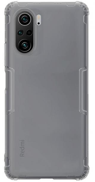 Silikonové pouzdro Nillkin Nature pro Xiaomi Poco F3, šedá
