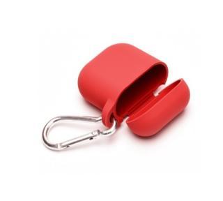 Silikonové pouzdro pro sluchátka Apple AirPods red