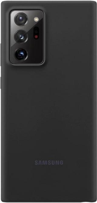 Silikonové pouzdro Silicone Cover EF-PN985TBEGEU pro Samsung Galaxy Note20 Ultra, černá