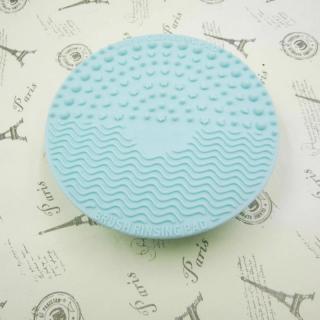 Silikonový kartáč na čištění štětců Barva: modrá