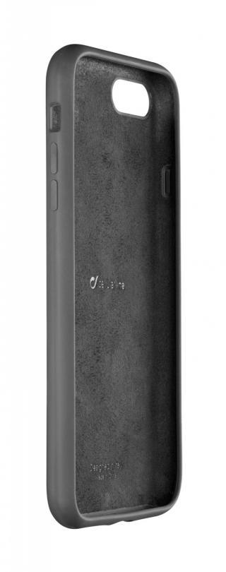 Silikonový kryt Cellularline SENSATION pro Apple iPhone 7 Plus/8 Plus, černá