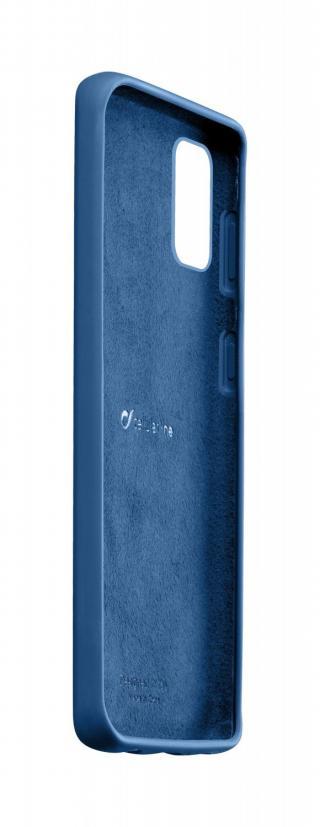 Silikonový kryt Cellularline SENSATION pro Samsung Galaxy A51, modrá