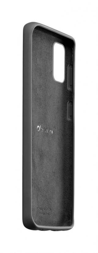 Silikonový kryt Cellularline SENSATION pro Samsung Galaxy A71, černá
