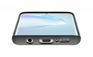 Silikonový kryt Cellularline SENSATION pro Samsung Galaxy S20 , černá