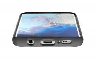 Silikonový kryt Cellularline SENSATION pro Samsung Galaxy S20, černá