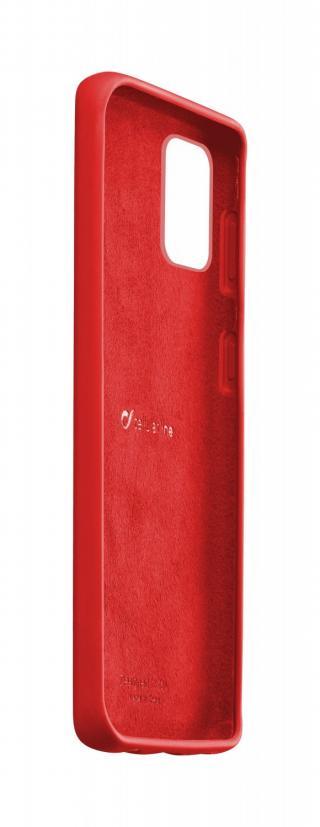 Silikonový kryt Cellularline SENSATION pro Samsung Galaxy S20 , červená
