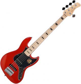 Sire Marcus Miller V7 Vintage Alder-5 Bright Metallic Red 2nd Gen 2019