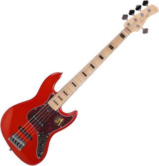 Sire Marcus Miller V7 Vintage Ash-5 Bright Metallic Red 2nd Gen 2019