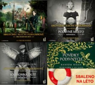 Sirotčinec slečny Peregrinové - Ransom Riggs - audiokniha