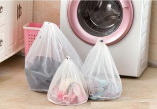Síťové vaky na jemné prádlo - 3 varianty Rozměry: 44 cm x 48 cm