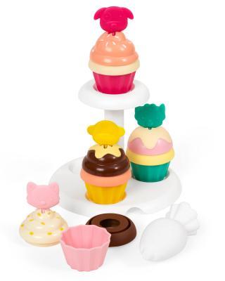 SKIP HOP Zoo stohovací Cupcakes s měnícími se barvami 3 r