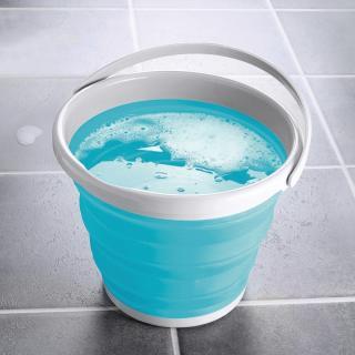 Skládací kbelík - tyrkysový