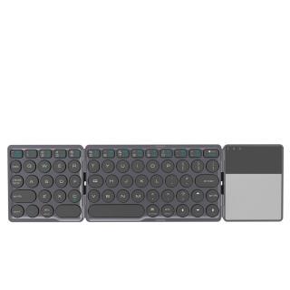Skládací klávesnice s touchpadem Barva: černá