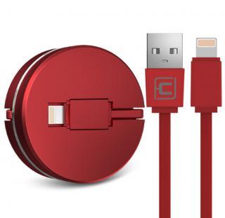 Skládací USB kabel pro iPhone - 6 barev Barva: červená