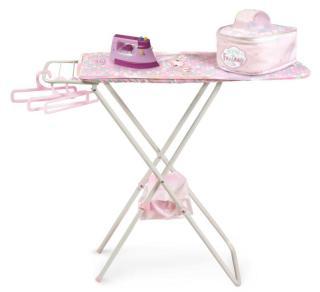 Skládací žehlicí prkno pro panenky s doplňky DeCuevas