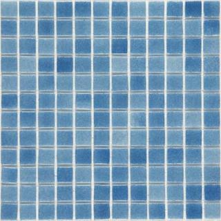 Skleněná mozaika Mosavit Brumas 30x30 cm lesk BR2001 modrá