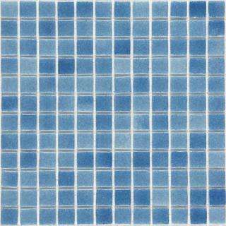 Skleněná mozaika Mosavit Brumas 30x30 cm lesk BR2001ANTISLIP modrá