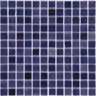 Skleněná mozaika Mosavit Brumas 30x30 cm lesk BR2002ANTISLIP modrá