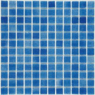 Skleněná mozaika Mosavit Brumas 30x30 cm lesk BR2004 modrá