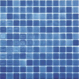 Skleněná mozaika Mosavit Brumas 30x30 cm lesk BR2005 modrá