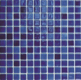 Skleněná mozaika Mosavit Brumas 30x30 cm lesk BR2006ANTISLIP modrá
