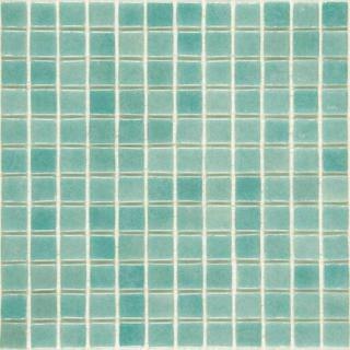 Skleněná mozaika Mosavit Brumas 30x30 cm lesk BR3001ANTISLIP zelená