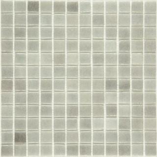 Skleněná mozaika Mosavit Brumas 30x30 cm lesk BR4001 šedá