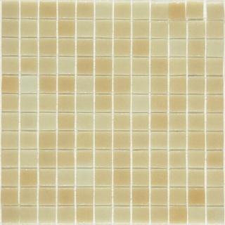 Skleněná mozaika Mosavit Brumas 30x30 cm lesk BR5001 béžová