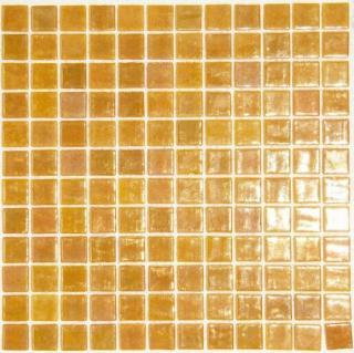 Skleněná mozaika Mosavit Metalico dore 30x30 cm lesk METALICODORE