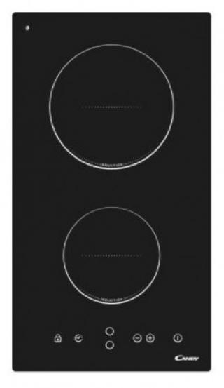 Sklokeramická deska sklokeramická varna deska candy cdic 30, 2 zóny