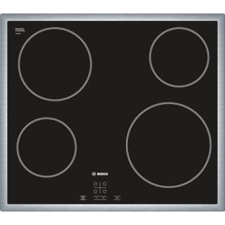 Sklokeramická varná deska Bosch černá PKE645D17E černá černá