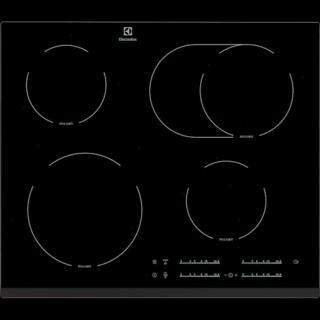 Sklokeramická varná deska Electrolux černá EHF65451FK černá černá