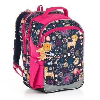 Školní batoh Topgal CHI 876 D - Blue,Školní batoh Topgal CHI 876 D - Blue dámské 40 cm