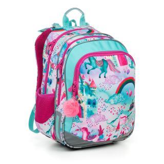 Školní batoh Topgal ELLY 19004 G,Školní batoh Topgal ELLY 19004 G dámské 41 cm