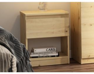 Skříňka/noční stolek Carlos 401S, dub artisan