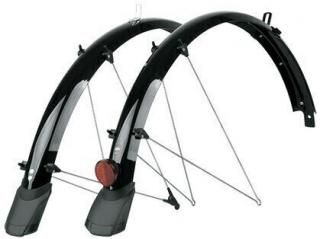 SKS Bluemels Cable Tunnel Mudguards 28 53 Black Set