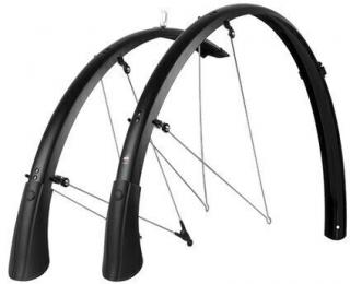 SKS Bluemels Matt Mudguards 28 45 Black Set